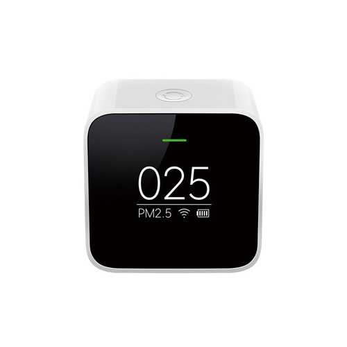 Original Xiaomi Black Smart OLED Display Accurate Laser Sensor Air Quality Monitor PM 2.5 Detector
