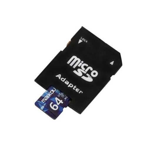 Original Maikou Class10 64G TF Card Memory Card With Reader Set
