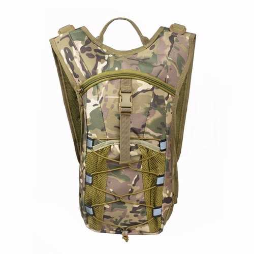 Men Outdoor Sport Hiking Backpack Tactical Oxford Cloth Backpack