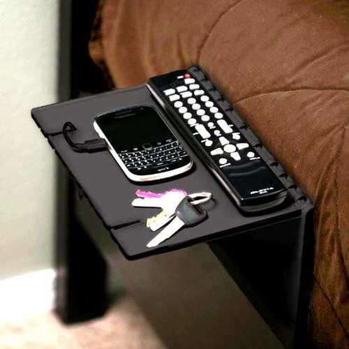 Bedroom Bedside Folding Landing Support Multi-function Phone Lazy Bracket Storage Rack