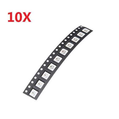 100pcs Rgb WS2812B 4Pin Full Color Drive LED Lights Sensor