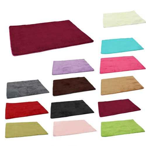 120x160cm Shaggy Fluffy Thicken Anti Skid Yoga Mat Rug Cushion Winter