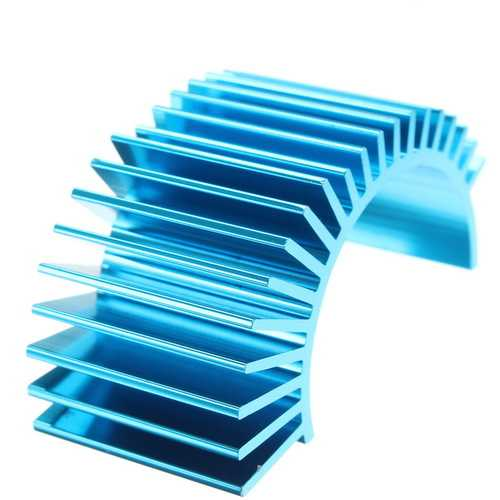 HSP Heat Sink For Motor 540 550 3650 3670 36 Series Motor RC Car Part Blue Purple