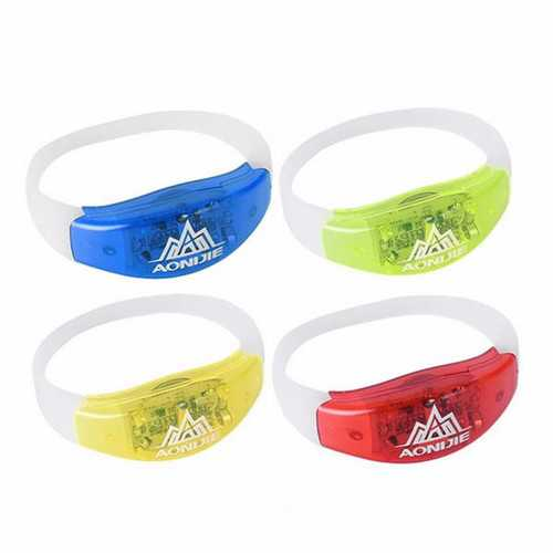 AONIJIE LED Running Bracelet Night Runner Luminous Sport Safety Warning Wristband