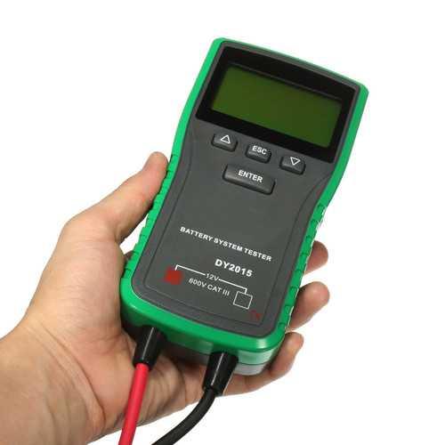 12V 24V Digital Automotive Car Battery Load Tester Analyzer CCA DY2015