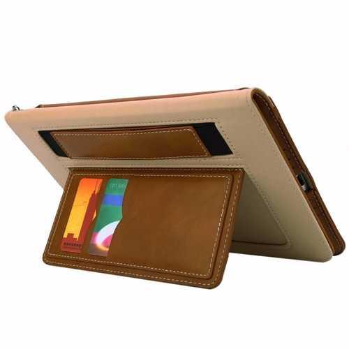 Multifunctional Card Slot Lanyard Leather Case For iPad Mini 4