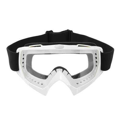 Clear Skiing Windproof Anti-UV Goggles Climbing CS Dust-proof Glasses Lens