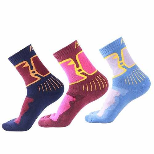 Santo S018 Women Winter Warm Full Thick Merino Wool Socks Ladies Thick Athletic Woolen Girls Socks