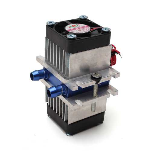 DIY Thermoelectric Peltier Refrigeration Cooling System + Fan Kit