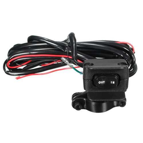 Winch Rocker Switch Handlebar Control Line Warn ATV/UTV Accessories