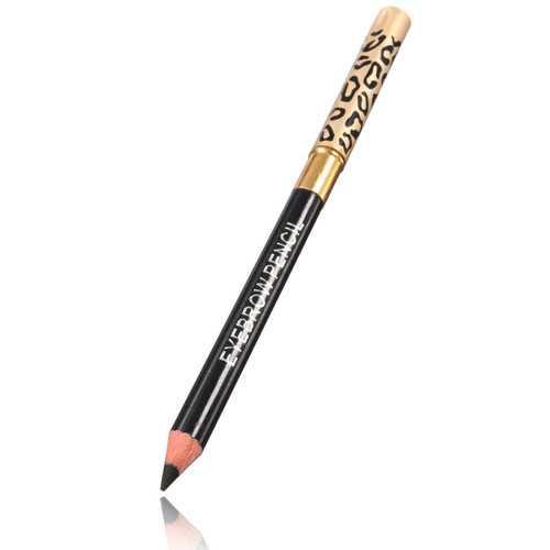 4 Colors 2 in 1 Makeup Eye Liner Eyebrow Pencil Pen Brush Cosmetic