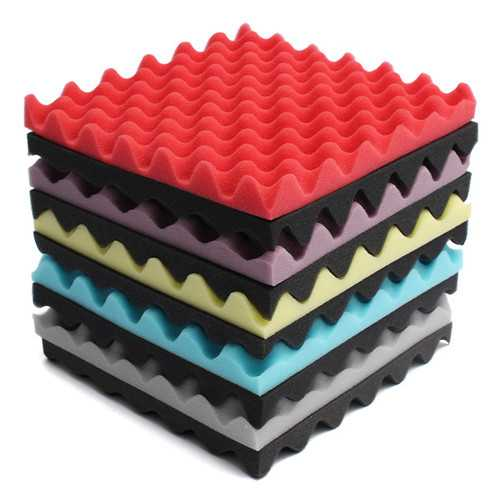 2pcs 300×300×30mm Square Insulation Reduce Noise Sponge Foam Cotton