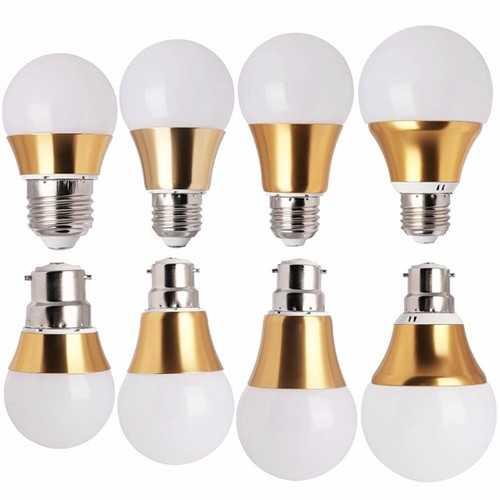 7W E27 B22 14 LED 5730 SMD Dimmable LED Light Globe Bulb 220V