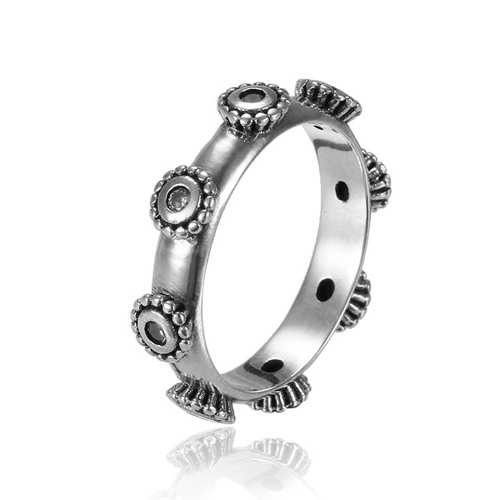 925 Sterling Silver New Style Vintage Women Ring Jewelry Gift