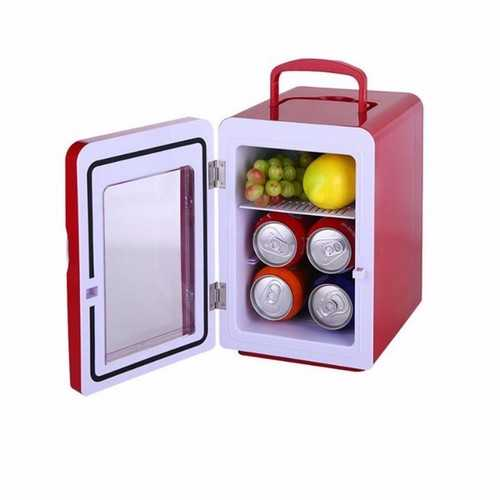 4L Mini Refrigerator Car Ice Box Mini Fridge 12V 220V Cool And Warm Container