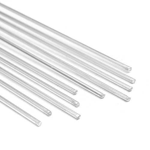 10pcs 2mm Diameter 35cm 13.8inch Length Aluminium Welding Rods Wire Electrode