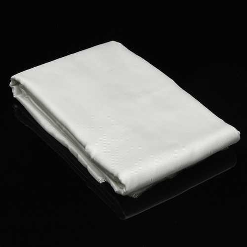 1.27x5.5m Fiber Glass Woven Roving Fiber Plain Weave Cloth DIY Craft