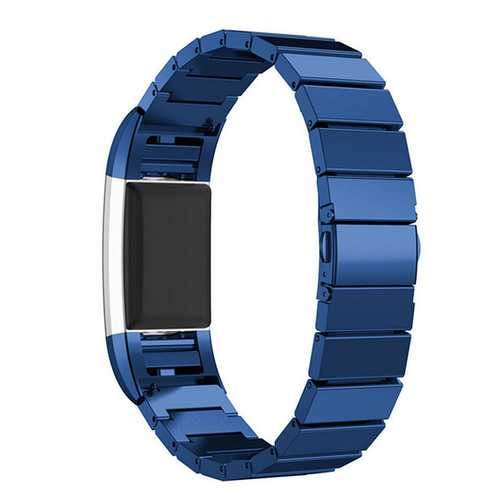 Replacement Bracelet Wristband Strap For Fitbit Charge 2 Tracker Stainless Steel