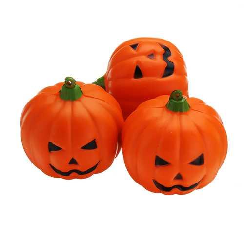 7CM Halloween Squishy Simulation Random Super Slow Rising Smile Pumpkin Squishy Fun Toys Decoration
