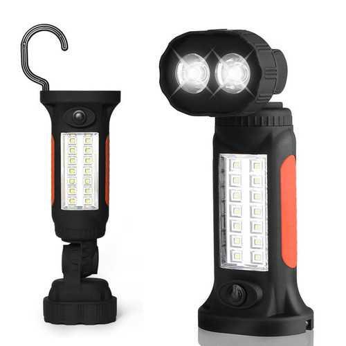 ThorFire 360 Degree Rotating Portable Camping LED Work Light Flashlight