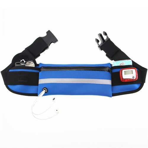 Chiluhu 008 Waterproof Running Belt Sports Waist Bag Phone Case for under 6.2 inches Smartphone