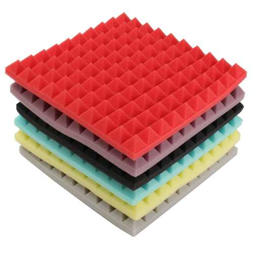 250x250x30mm Acoustic Soundproof Sound Absorption Studio Foam