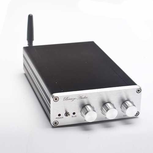 Breeze Audio BA10C TPA5613 Hifi 2.1 Bluetooth 4.0 75Wx2 + 150W Amplifier