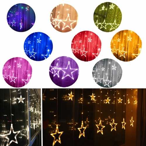 2.5m Battery Powered Star Fairy String Light Lamp Christmas Wedding Party Decor