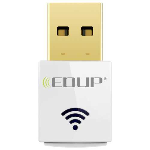 EDUP EP-AC1619 11AC Dual Band 2.4G/5G 600Mbps USB Wifi Dongle Wireless Networking Adapter