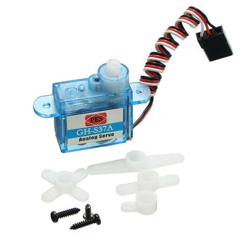 3.7g Micro Analog Servo GH-S37A For RC Airplane Helicopter