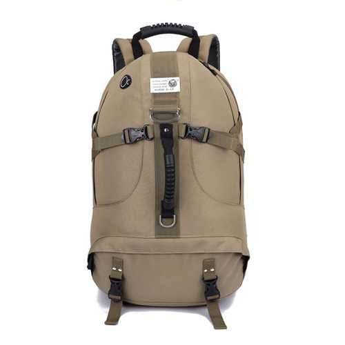 55L Outdoor Travel Backpack Sports Waterproof Nylon Backpack For Men Women