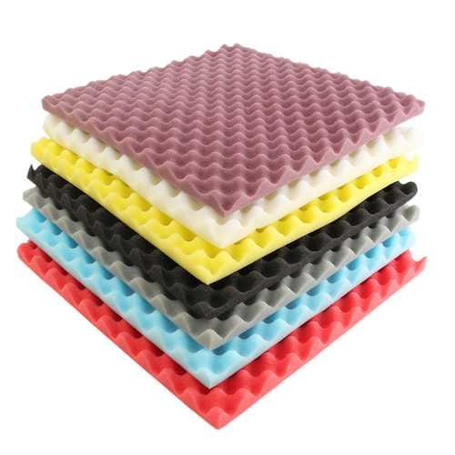 500×500×50mm Square Insulation Reduce Noise Sponge Foam Cotton - 7 Colors