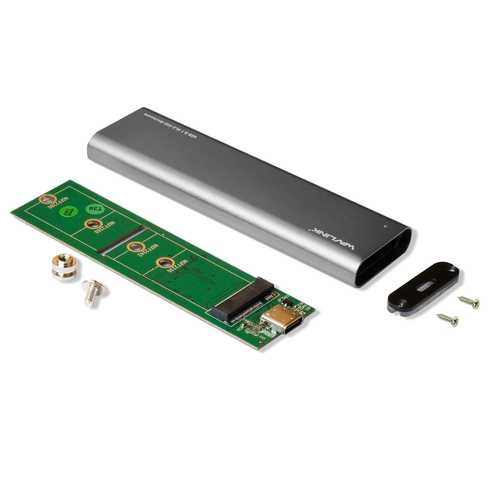 NGFF M.2 SATA SSD to USB 3.1 Aluminium Casing Hard Drive Enclosure