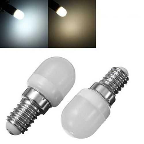 E14 1.5W Mini LED White/Warm White Light Bulb Home Chandelier Refrigerator Lamp AC200-240V