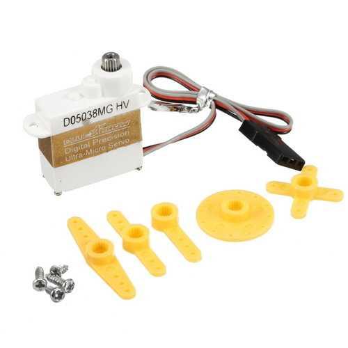 BLUEARROW D05038MG-HV 1.3KG/0.08S Digital Precision Ultra-Micro Servo
