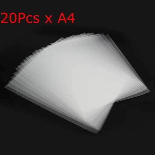 20Pcs A4 Inkjet Laser Printing Film Transparent Plate-Making Screen
