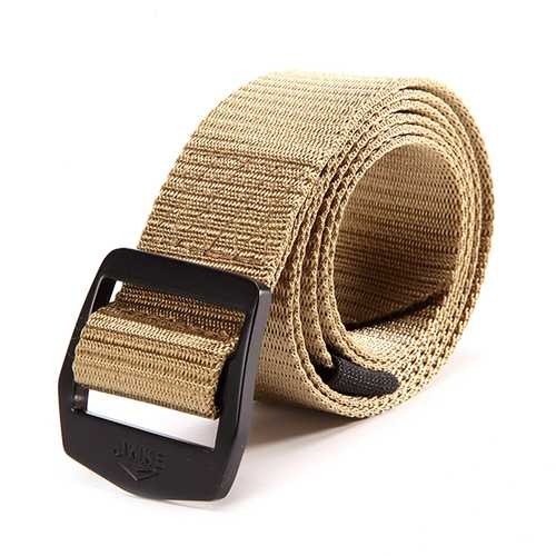 120CM Weaven Nylon Alloy Buckle Belt Military Tactical Durable Outdoor Sport Pants Strip