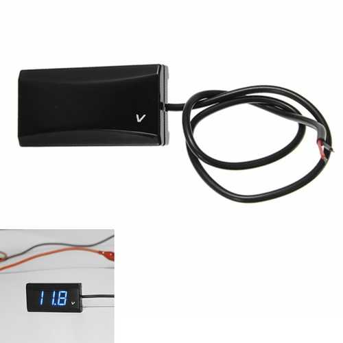 12V Universal Motorcycle Modified Volt Meterr
