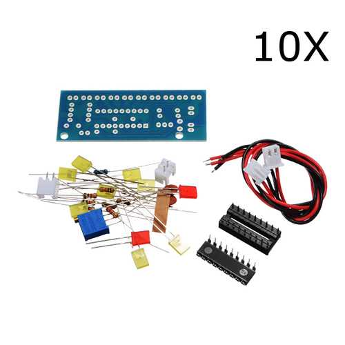 10Pcs DIY LM3915 Audio Level Indicator Electronic Production Suite Kit