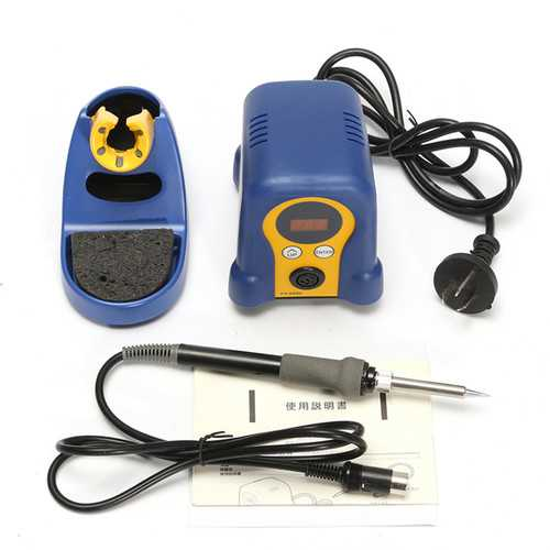 888D 70W 220V Digital Soldering Station Iron With Stand Repair Tool