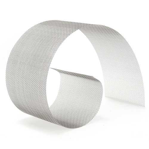 15x91cm Woven Wire 304 Stainless Steel Filtration Grill Sheet Filter 10 Mesh