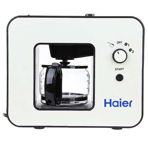 Haier Smart Grind And Brew Automatic Coffee Machine Home Appliance