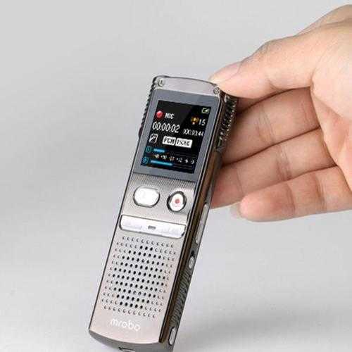 Mrobo M98 8G Mini Digital Audio Sound Voice Recorder MP3 Player Dictaphone