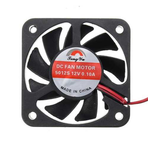 2000r/min DC 12V Universal Motorcycle Charger Cooling Fan Humidifier Electric Radiator Cooler