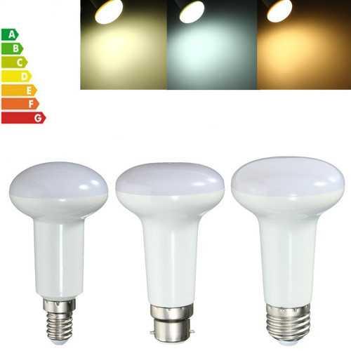 7W R63 E27 E14 B22 SMD5730 LED Reflector Light Lamp Bulb Pure Warm Natural White AC85-265V