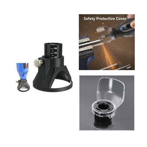Drill Carving Rotary Positioner Locator with Safety Protective Cover