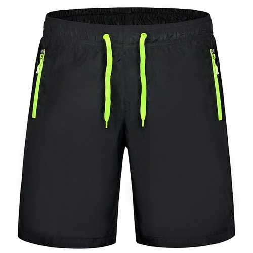 Athletic Outdooors Sports Quick Drying Breathable Men Casual Soft Beach Shorts