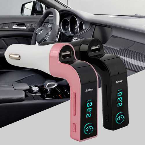 4 in 1 Wireless Hands Free bluetooth FM Transmitter MP3 Music Player Car Charger