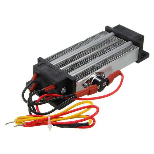 500W AC 220V PTC Heating Element Heater Ceramic Thermostatic Heater