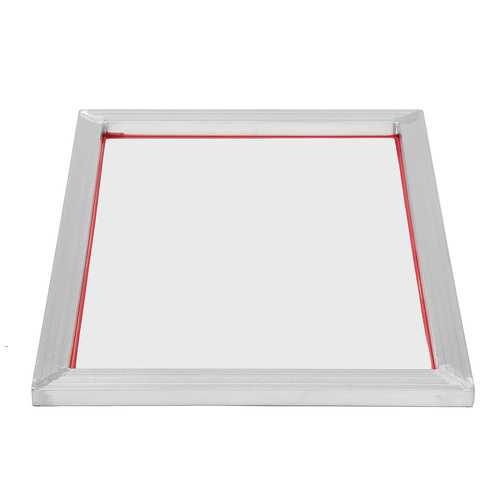 A3 Screen Printing Aluminium Frame Stretched With White 77T Silk Print Mesh